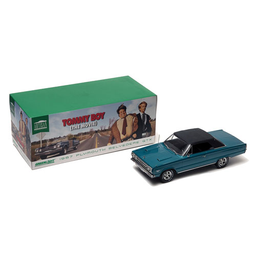 Tommy Boy 1967 Plymouth Belvedere Gtx Convertible 1 18 Scale Cast Metal Vehicle