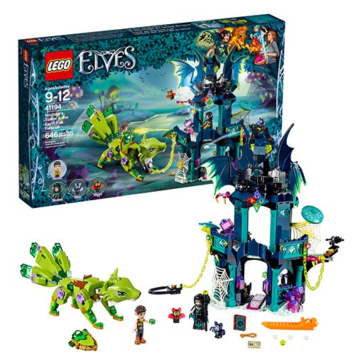 LEGO Elves 41194 Noctura's Tower and the Earth Fox Rescue