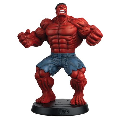 Marvel Fact Files Special #14 Red Hulk Statue with Collector Magazine