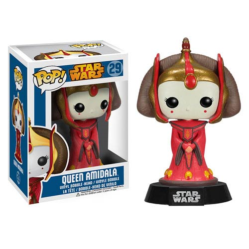 Star Wars Queen Amidala Pop! Vinyl Bobble Head