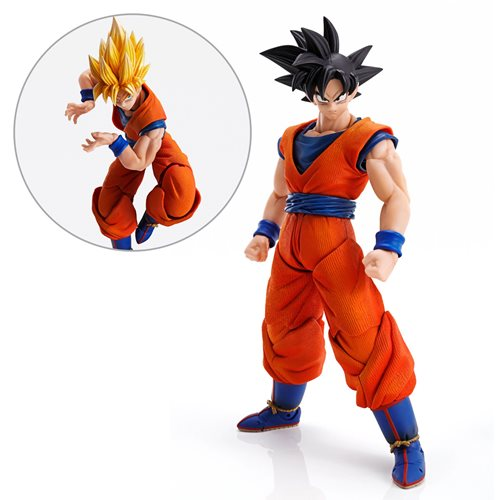 Dragon Ball Z Son Goku Imagination Works Action Figure, Not Mint