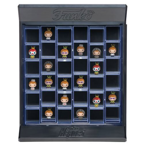 Pint Size Heroes Clear Display Case