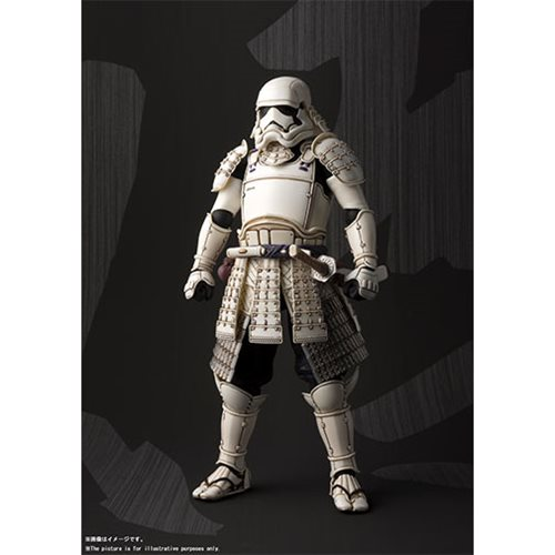 Star Wars Ashigaru First Order Storm Trooper Meisho Movie Realization Action Figure