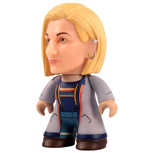 Doctor Who 13th Doctor Longcoat 3-Inch Titan Vinyl Figure - 2019 Convention Exclusive