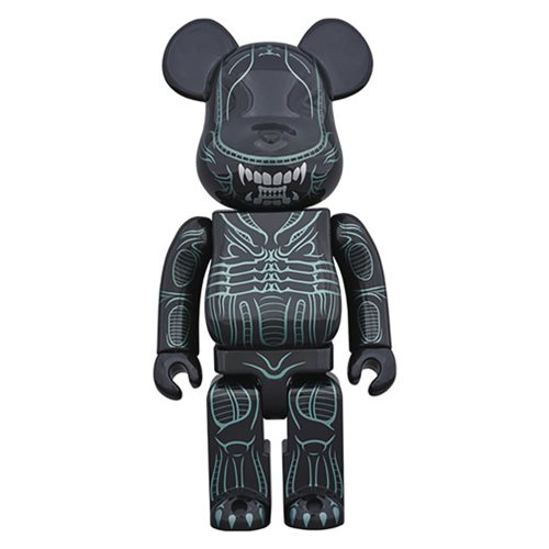 Alien Warrior 1,000% Bearbrick Figure
