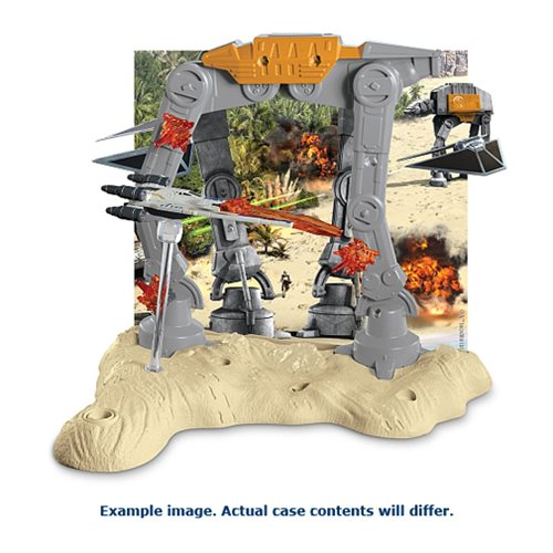 Hot Wheels Star Wars Starship Battle Scene Playset Case