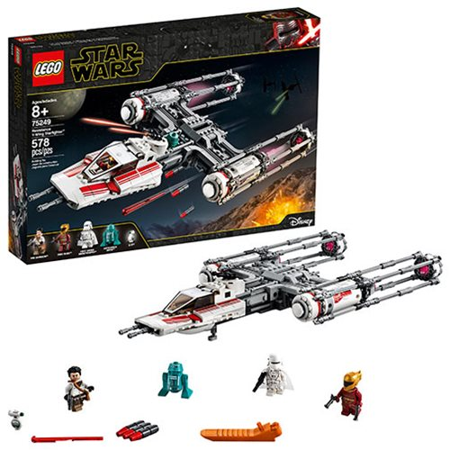 LEGO 75249 Star Wars Resistance Y-Wing Starfighter