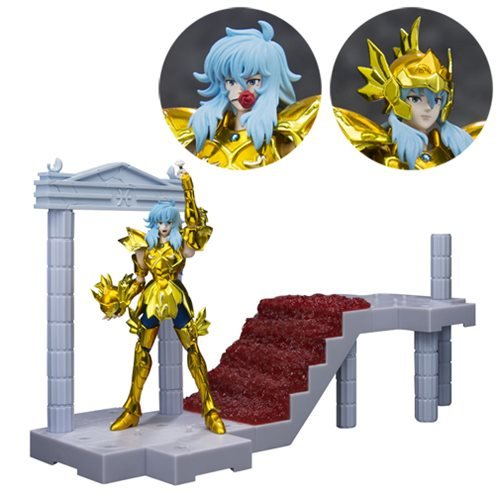 Saint Seiya Pisces Aphrodite Blooming Roses in the Palace of the Twin Fish DD Panoramation Action Figure Diorama Stand