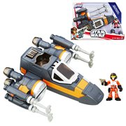 Star Wars Galactic Heroes Poe Dameron X-Wing Fighter (Black)