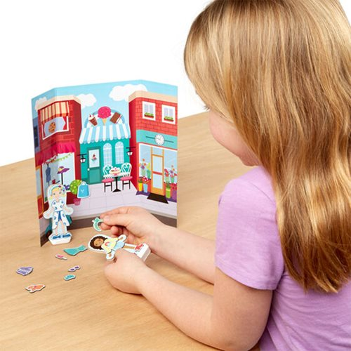Magnetivity Dress and Play Fashion Magnetic Dress-Up Play Set