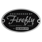 Firefly Engineered By Firefly Bumper Sticker