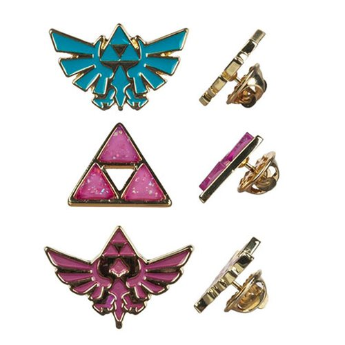 Legend of Zelda Twilight Princess Lapel Pin Set