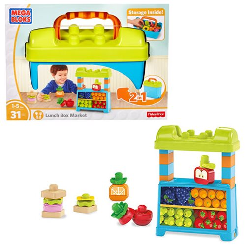 Mega Bloks First Builders Lunch Box Market