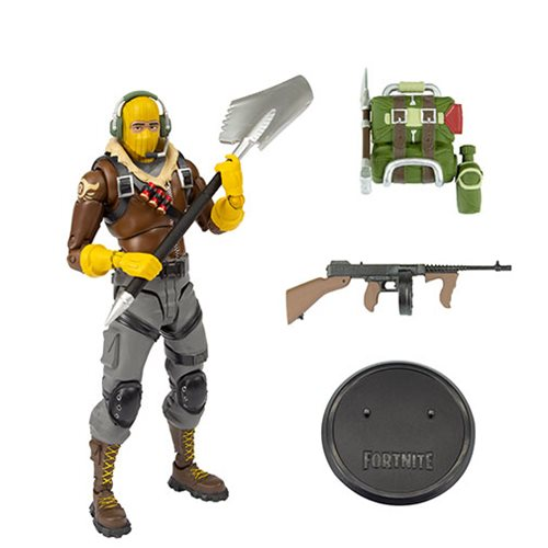 Fortnite Series 1 Raptor 7 Inch Action Figure