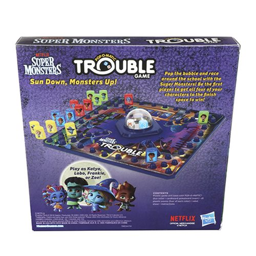 Super Monsters Edition Board Game