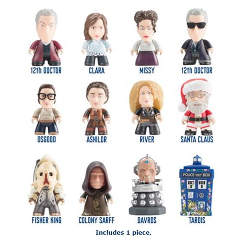 Doctor Who 12th Doctor Heaven Sent and Hell Bent Collection Random Titans Mini-Figure