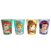 Disney Princesses Faces Mini Glass 4-Pack