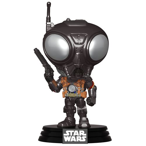 Star Wars: The Mandalorian Q9-Zero Pop! Vinyl Figure