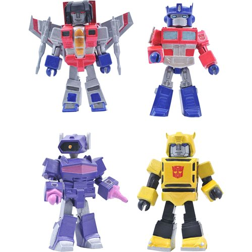 Transformers G1 Series 1 Minimates Box Set