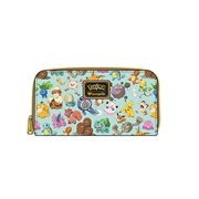 Pokemon All Time Fave Print Mint Zip-Around Wallet