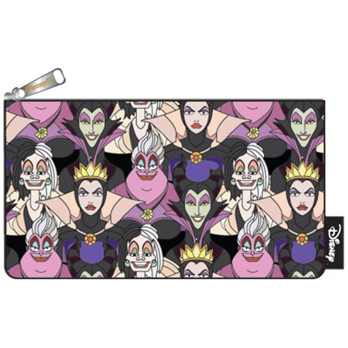 Disney Villains Print Pencil Case