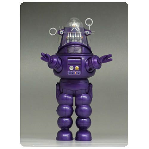 Forbidden Planet  Robby the Robot Purple Die-Cast Figure - San Diego Comic-Con 2013 Exclusive