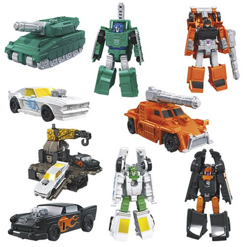Transformers Generations War for Cybertron Earthrise Micromasters Wave 1 Set