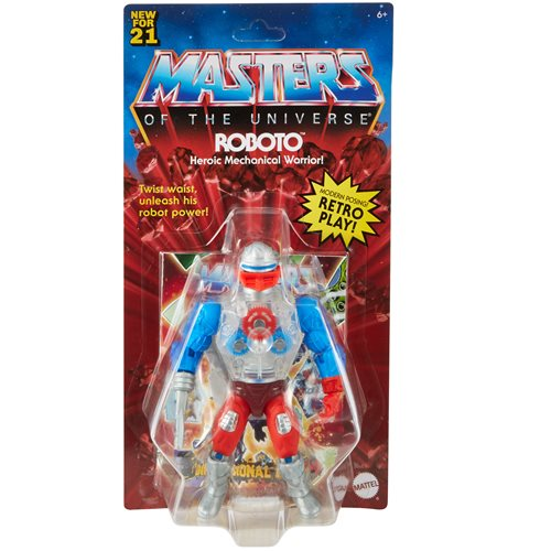 Masters of the Universe Origins Roboto Action Figure