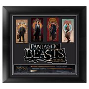 Fantastic Beasts and Where To Find Them Wands Framed Movie Art