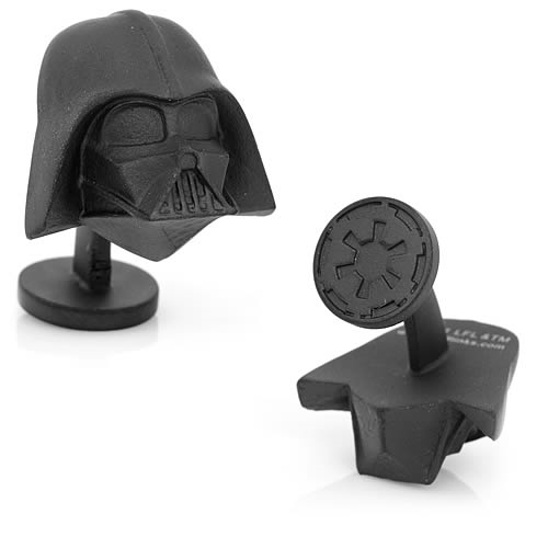 Star Wars 3-D Darth Vader Head Cufflinks