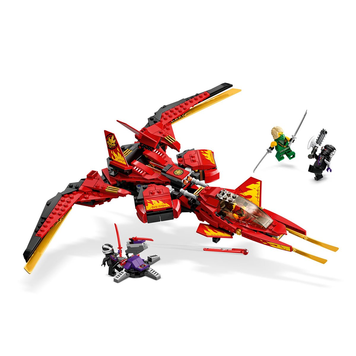Lego 71704 Ninjago Kai Fighter Entertainment Earth