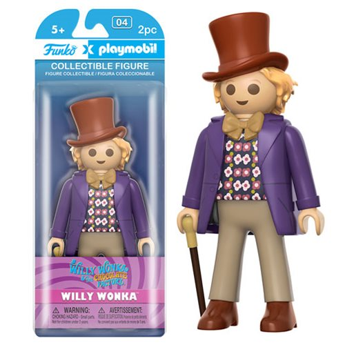 Willy Wonka and the Chocolate Factory Wonka 7-Inch Playmobil Action Figure