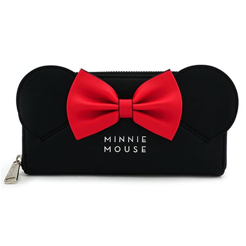 Minnie Mouse with Ears and Bow Wallet
