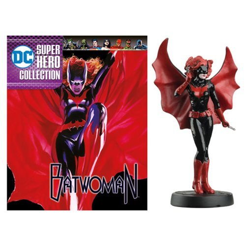 DC Superhero Batwoman Best Of Figure with Collector Magazine #46