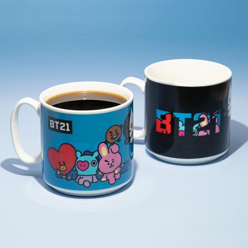 Line Friends BTS BT21 Heat Change 11 oz. Mug