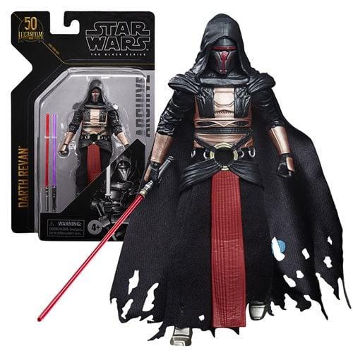Star Wars The Black Series Archive Darth Revan 6-Inch Figure