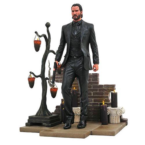 Картинки по запросу John Wick PVC Gallery Statues - John Wick 2