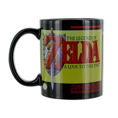 Super Nintendo SNES The Legend of Zelda Mug