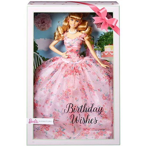 Barbie Birthday Wishes Caucasian Doll
