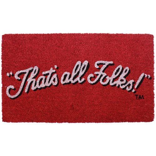Looney Tunes That's All Folks Coir Doormat