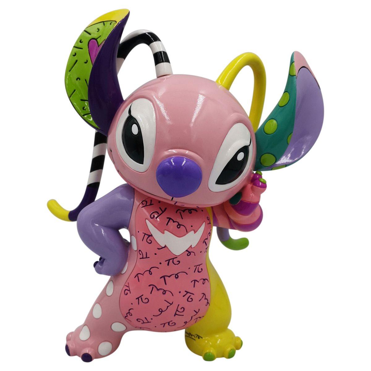 Disney Lilo Stitch Angel Statue By Romero Britto