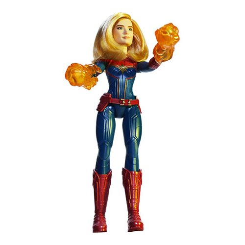 Captain Marvel Cosmic Captain Marvel Adventure Doll