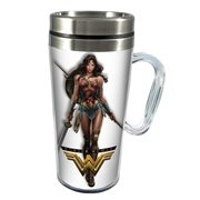 Wonder Woman Movie 14 oz. Stainless Steel Travel Mug