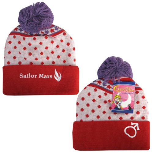 Sailor Moon Sailor Mars Beanie Hat