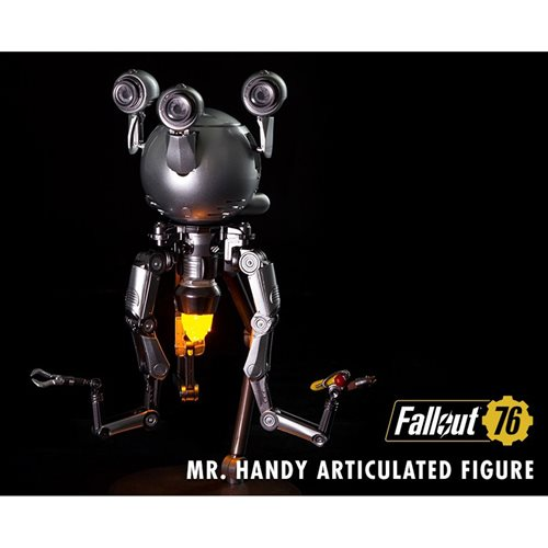 Fallout Mr. Handy Deluxe Articulated Action Figure with Sound