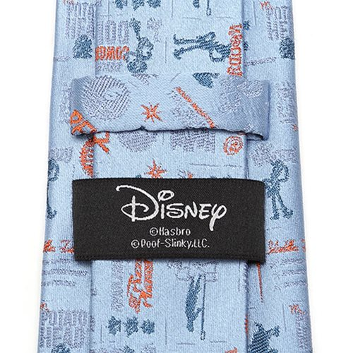 Toy Story 4 Characters Blue Men's Tie