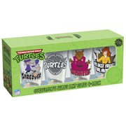 Teenage Mutant Ninja Turtles Friend and Foe Pint Glass 4-Pack