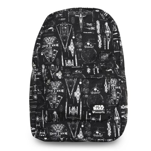 Star Wars: The Force Awakens Ship Blueprint Backpack