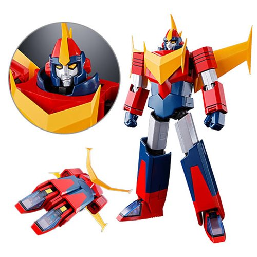 Invincible Super Man Zambot GX-81 Zamboace Soul of Chogokin Action Figure