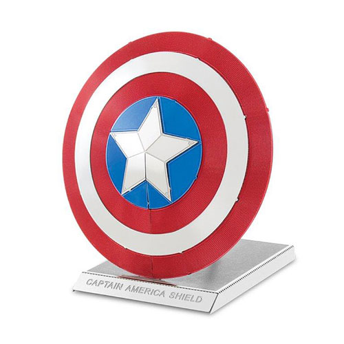 Marvel Captain America Shield Metal Earth Model Kit